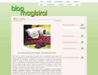 magistralfarma.blogspot.com.br screenshot