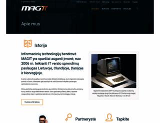 magit.lt screenshot