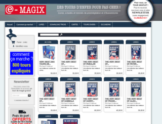 magix.fr screenshot