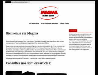 magma.fr screenshot