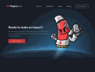 magmalabs.io screenshot