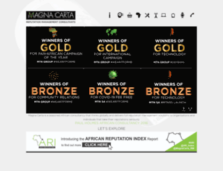 magna-carta.co.za screenshot