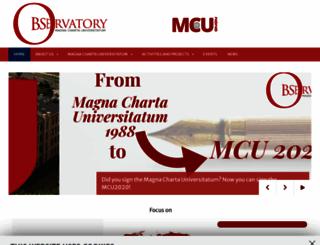 magna-charta.org screenshot