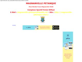 magnanville-petanque.wifeo.com screenshot