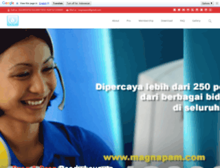 magnapam.com screenshot