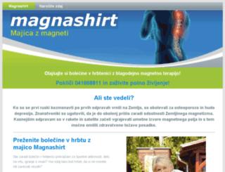 magnashirt.si screenshot