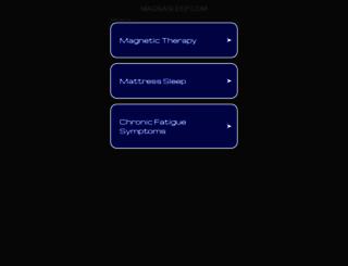 magnasleep.com screenshot