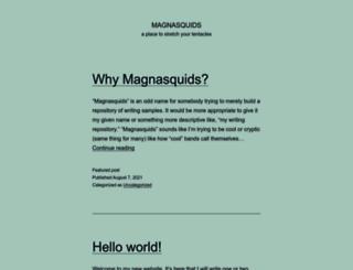 magnasquids.com screenshot