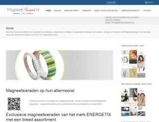 magneetsieraad.nl screenshot