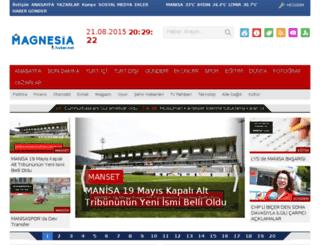 magnesiahaber.net screenshot