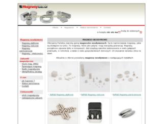 magnesy.tanio.net screenshot