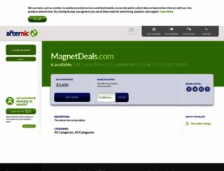 magnetdeals.com screenshot