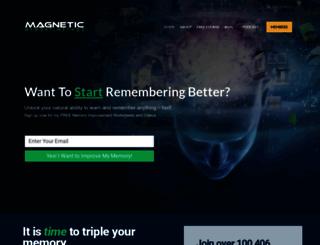 magneticmemorymethod.com screenshot