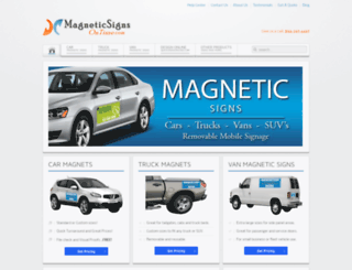 magneticsignsontime.com screenshot