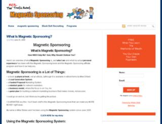 magneticsponsorings.com screenshot
