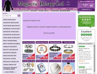 magnetictherapygroup.co.uk screenshot