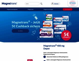 magnetrans.com screenshot