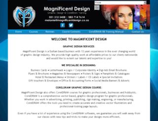 magnificentdesign.co.za screenshot