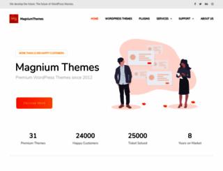 magnium-themes.com screenshot