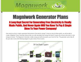 magniworkplans.com screenshot