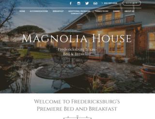 magnolia-house.com screenshot