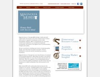magnoliahomesofga.com screenshot