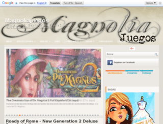 magnoliajuegos.blogspot.com screenshot