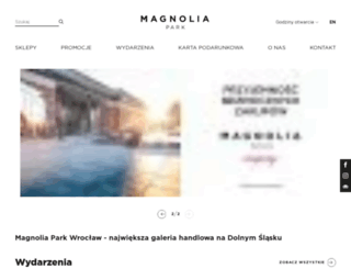 magnoliapark.pl screenshot