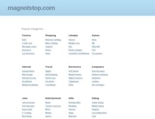 magnotstop.com screenshot