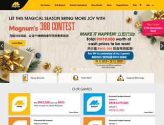 magnum4d.com.my screenshot