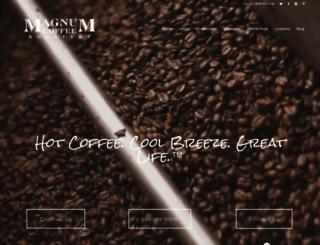magnumcoffee.com screenshot