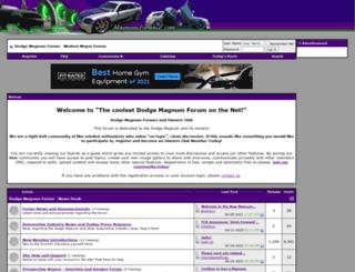 magnumforumz.com screenshot