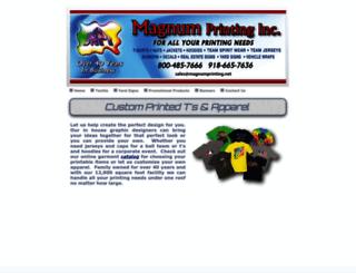magnumprinting.net screenshot