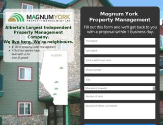 magnumyorkcondo.instapage.com screenshot