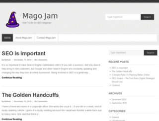 magojam.com screenshot
