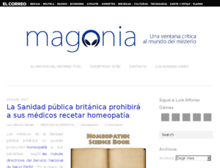 magonia.es screenshot