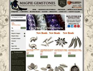 magpiegemstones.com screenshot
