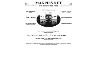 magpies.net screenshot