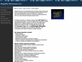 maguffinmicrowave.com screenshot