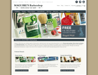 maguiresbarbershop.co.uk screenshot