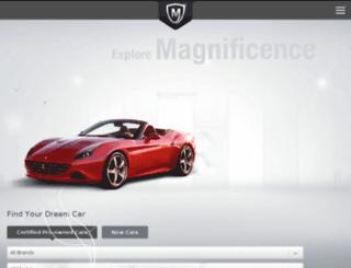 maguscars.com screenshot
