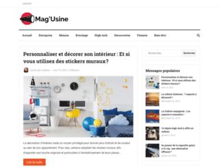 magusine.net screenshot