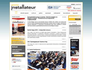 magyarinstallateur.hu screenshot