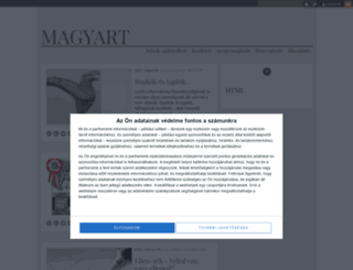 magyart.blog.hu screenshot
