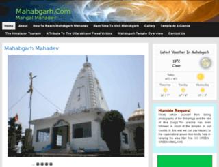 mahabgarh.com screenshot