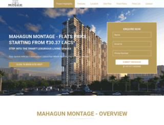 mahagunmontage.co.in screenshot