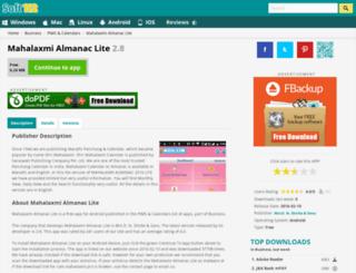 mahalaxmi-calendar.soft112.com screenshot
