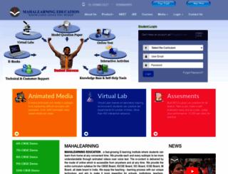 mahalearning.com screenshot
