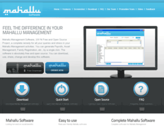 mahallu.com screenshot