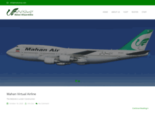 mahanva.com screenshot